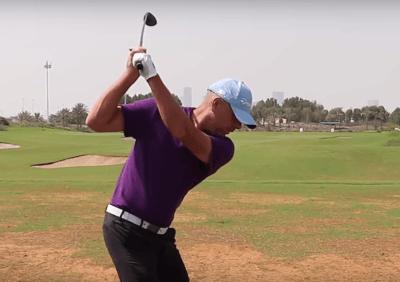 Golf Schlägerkopfgeschwindigkeit