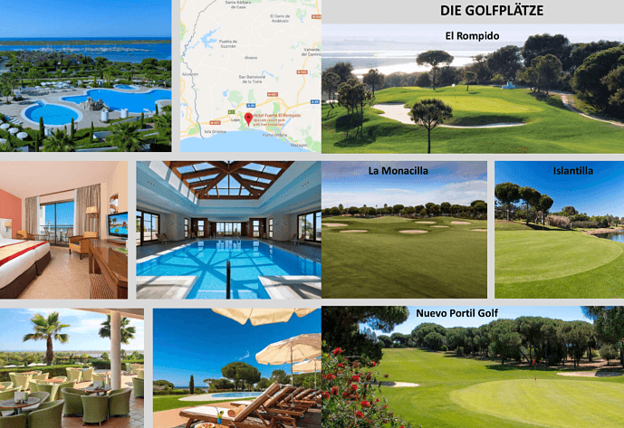 Golfreise mit Vaughan Hawtrey El Rompido