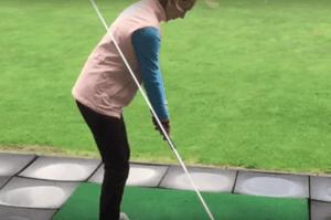 Die optimale ebene beim golf