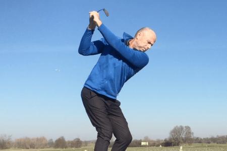 Golf Rückschwung