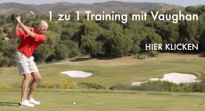 Golftraining mit Vaughan