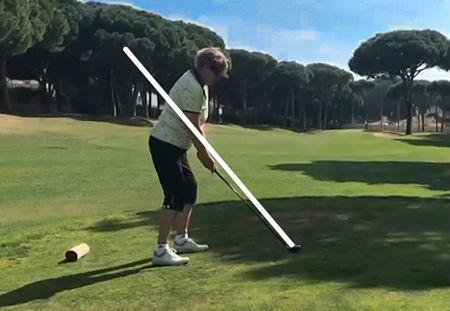 Stand Golfschwung