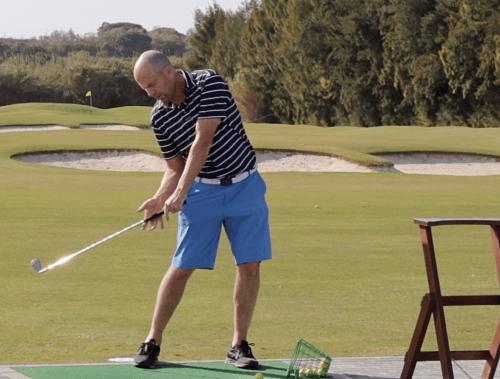 golf hüfte drehen