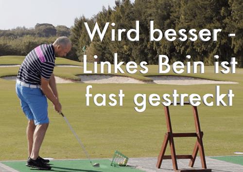 golfschwung treffmoment