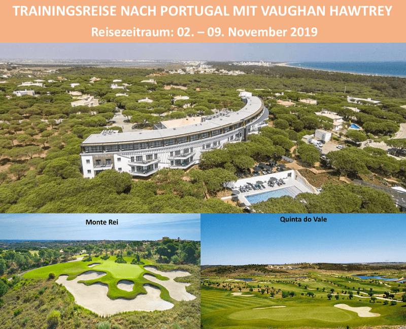 Golfreise mit Vaughan Hawtrey