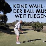 Wenn der Ball Weit Fliegen Muss! 4 Wichtige Schritte