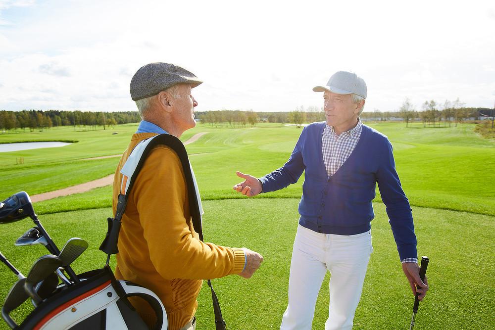 Golfer lernen