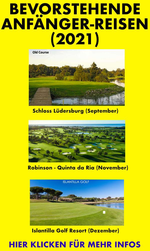Golfreisen für Anfänger