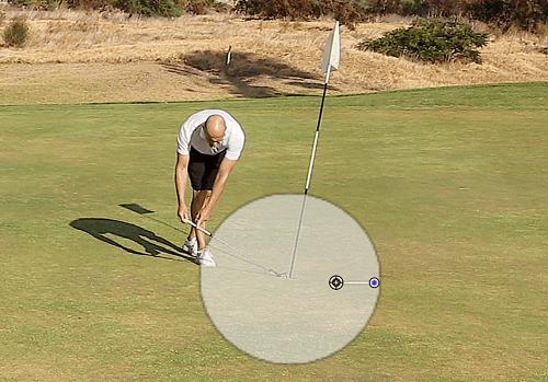 Golf für Anfänger Putten