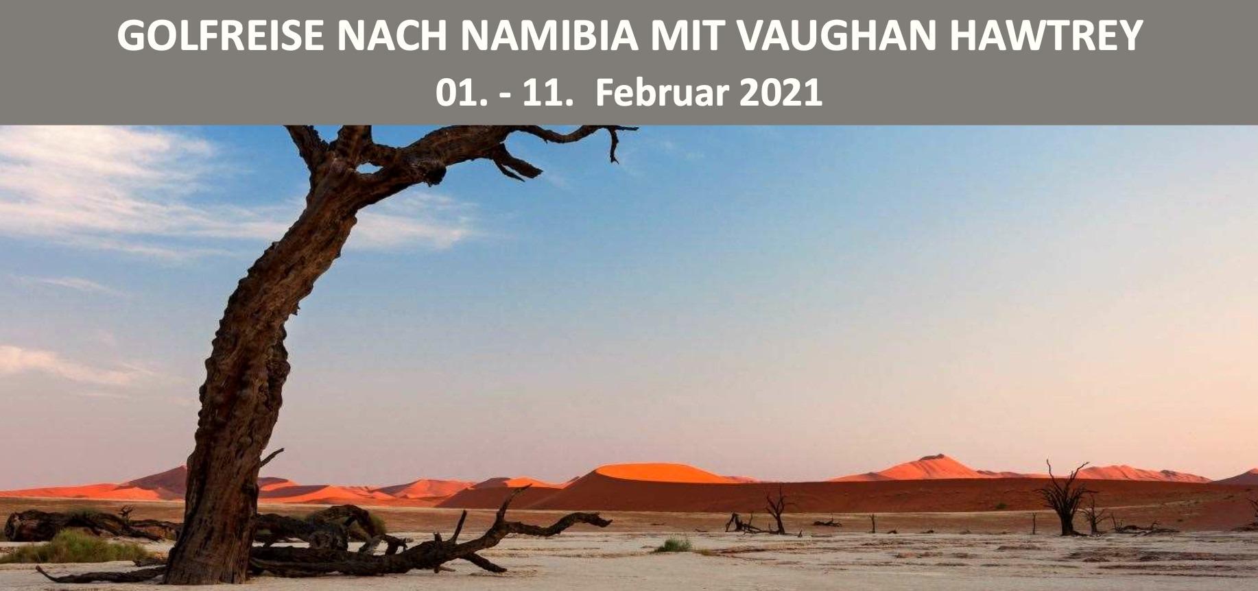 Golfreise Namibia