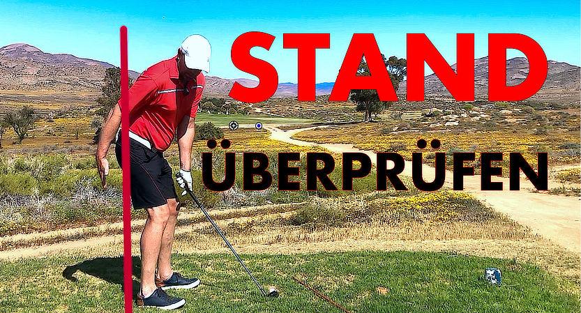 Golf Stand überprüfen