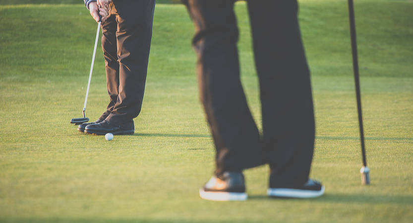 Golfregeln anwenden