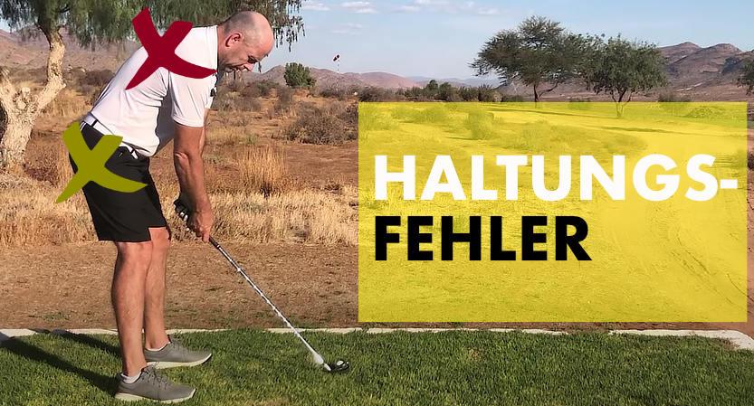 Haltungsfehler Golf